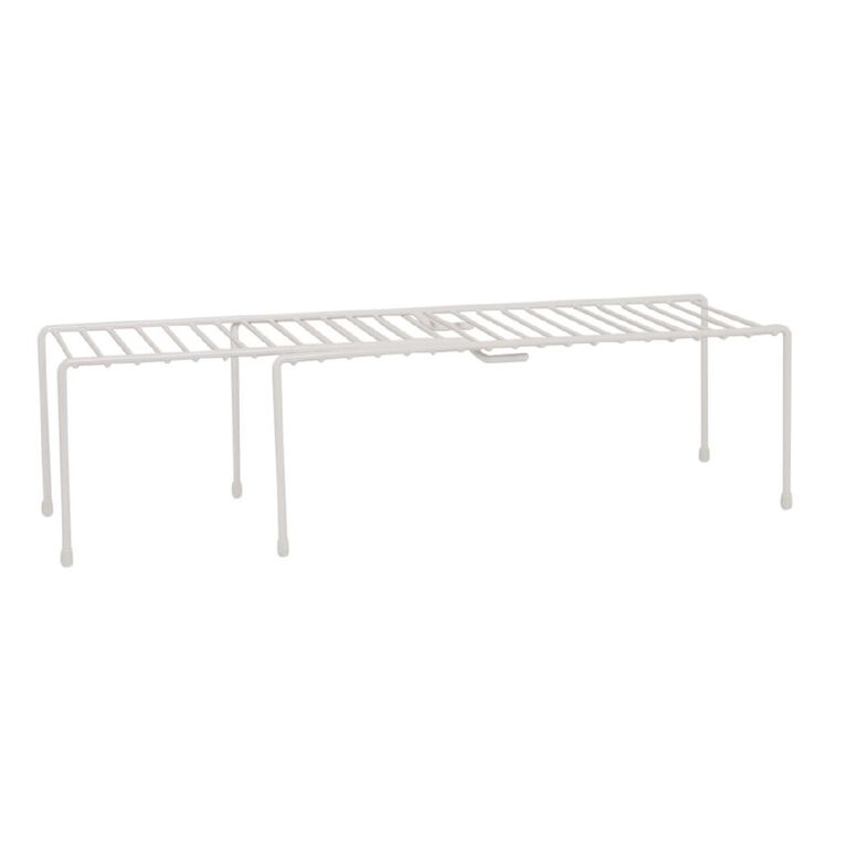 Living & Co Pantry Wire Extendable Shelf Small, , hi-res