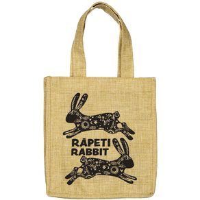 Party Inc Easter Hessian Bag 20cm x 21cm Assorted