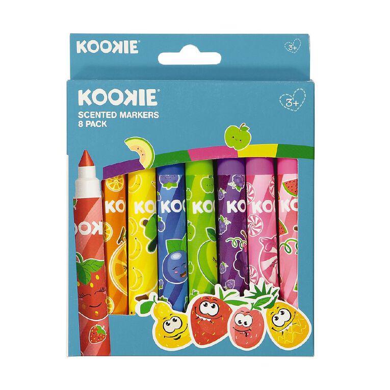 Kookie Scented Markers 8 Pack, , hi-res