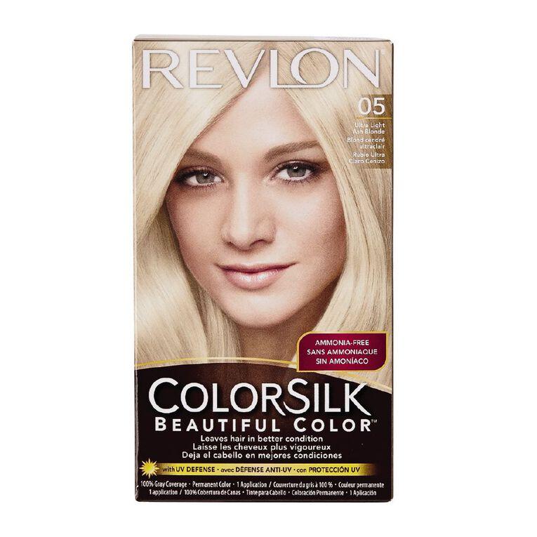 Revlon Colorsilk 05 Ultra Light Ash Blonde, , hi-res