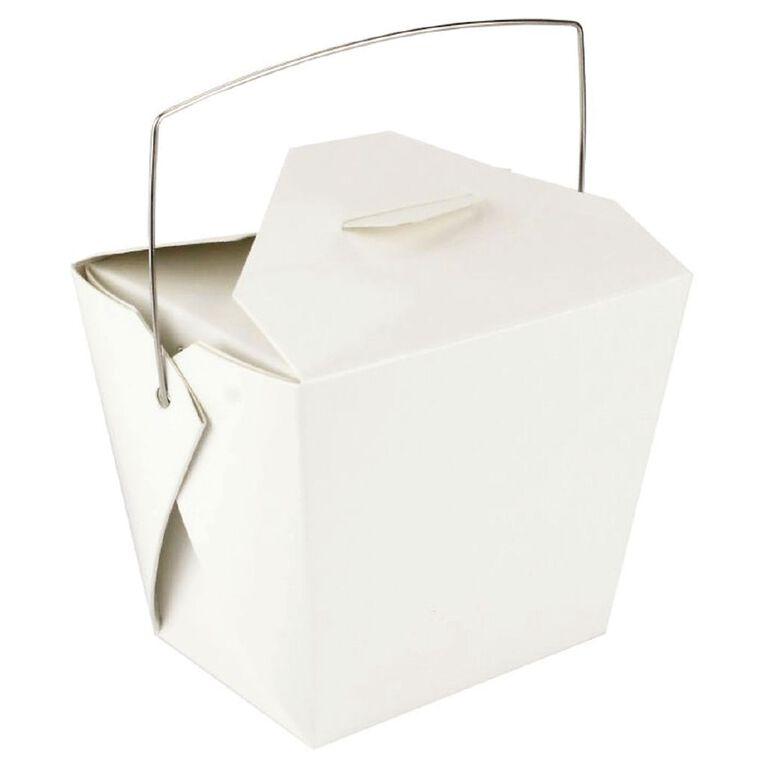 Artwrap Noodle Boxes 4 Pack White, , hi-res
