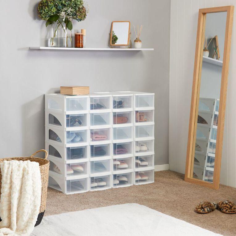 Taurus Storage Organiser Drawer Clear, , hi-res