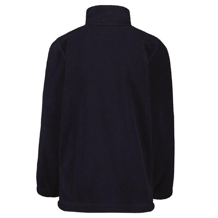 Schooltex Dominion Road Polar Fleece Jacket with Embroidery, Navy, hi-res
