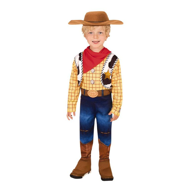 Toy Story Woody Deluxe Toy Story 4 Costume - Size Toddler, , hi-res