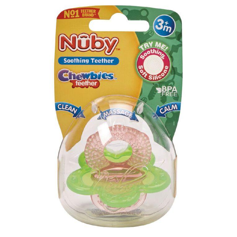 Nuby Chewbies Teether, , hi-res