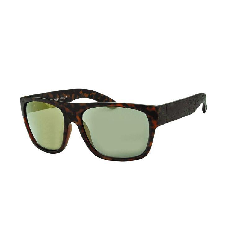 H&H Men's Mirror Brown Sunglasses, Brown, hi-res