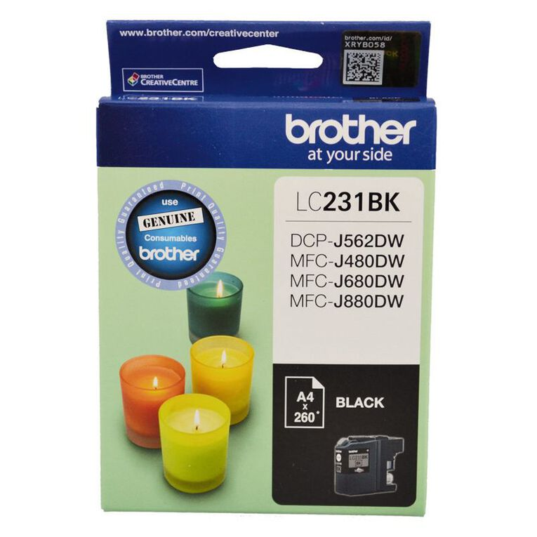 Brother Ink LC231 Black (260 Pages), , hi-res