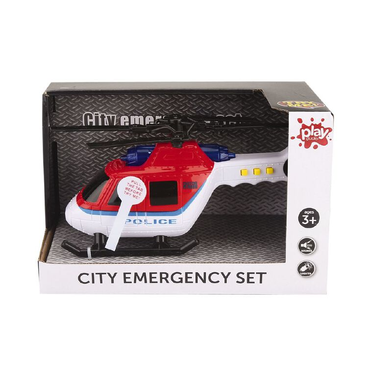 Play Studio City Emergency Car with Lights and Sounds Assorted, , hi-res