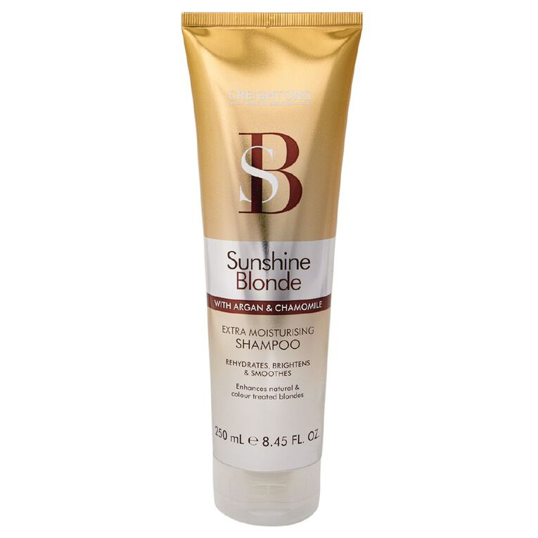 Creightons Sunshine Blonde Extra Moisturising Shampoo 250ml, , hi-res
