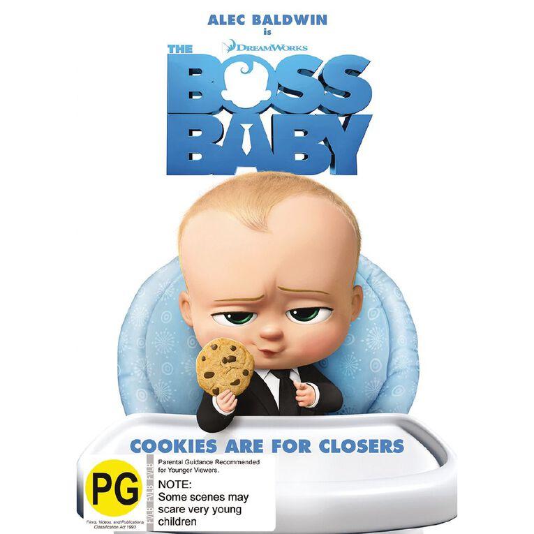 Boss Baby DVD 1Disc, , hi-res