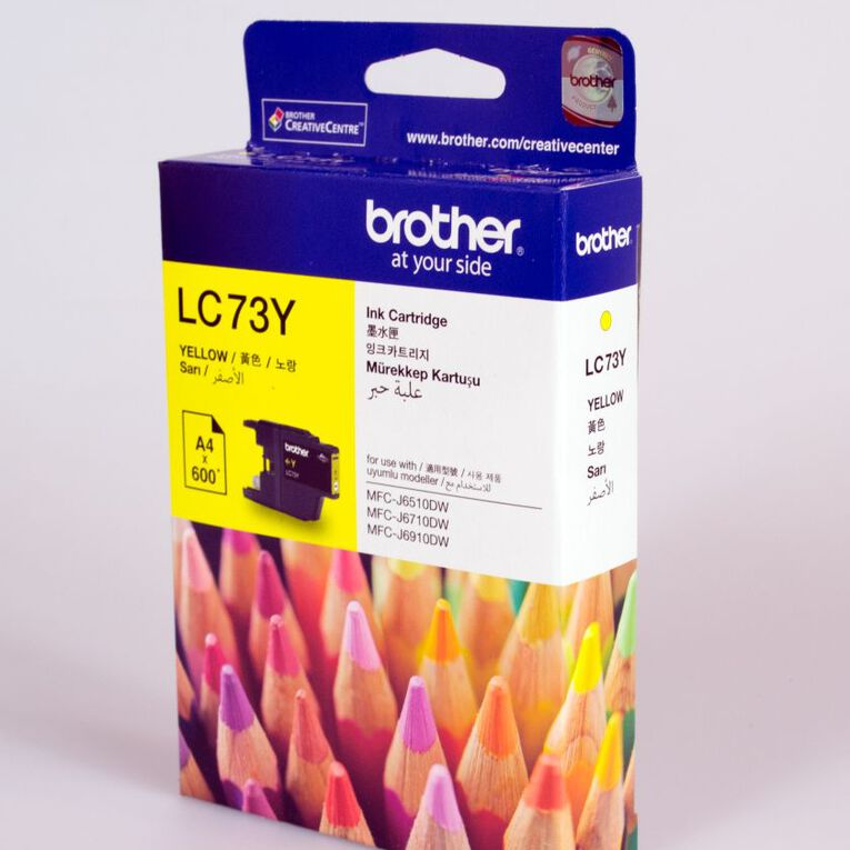 Brother Ink LC73 Yellow (600 Pages), , hi-res