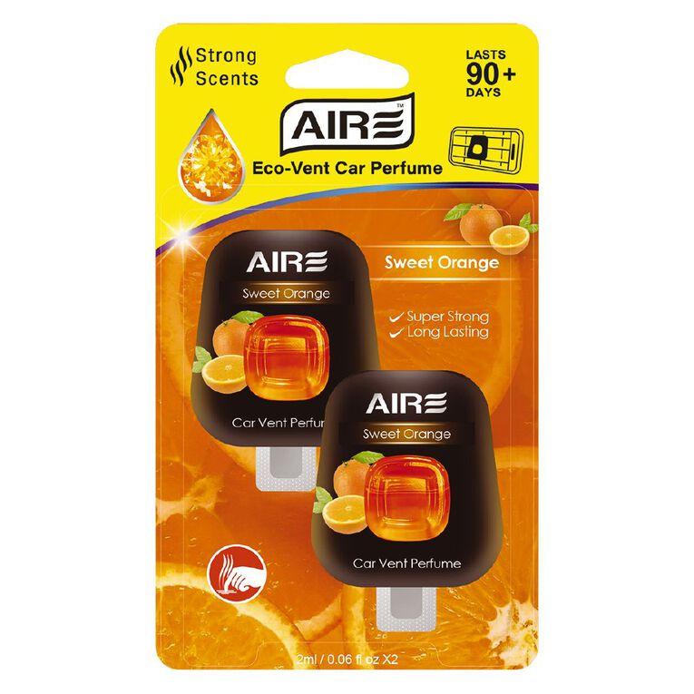 Aromate Eco Vent Sweet Orange 2 Pack Diffuser, , hi-res