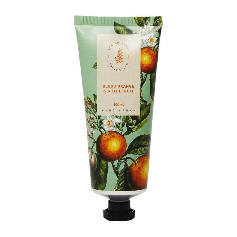 Winter Fruit Blood Orange And Grape Fruit Hand Cream 100ml, , hi-res