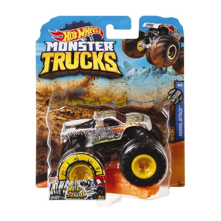 Hot Wheels Monster Trucks 1:64 Scale Diecast Truck Assorted, , hi-res