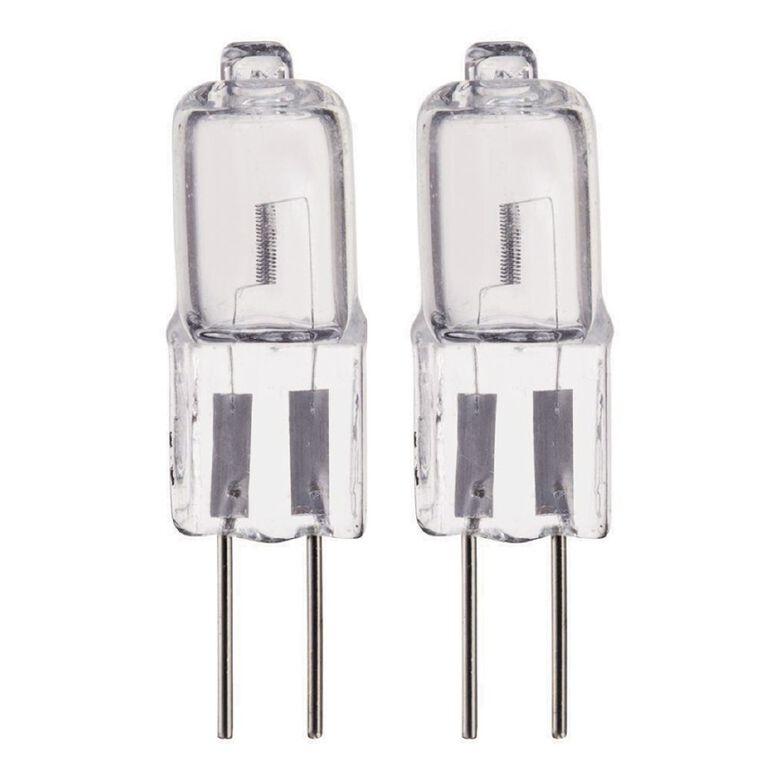 Edapt Halogen G4 Bi-Pin Light Bulb 12V Clear 20w Clear 2 Pack, , hi-res