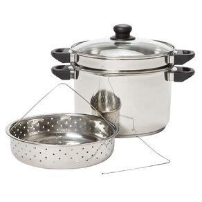 Living & Co Multi Cooker Set Silver 4 Piece