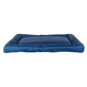 Petzone Pillow Bed Blue Large with Recycled Content