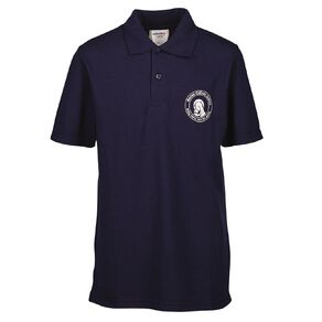 Schooltex Marian Catholic School New Short Sleeve Polo with Embroidery