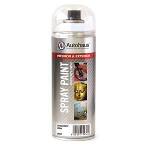 Autohaus Spray Paint Satin White 400ml
