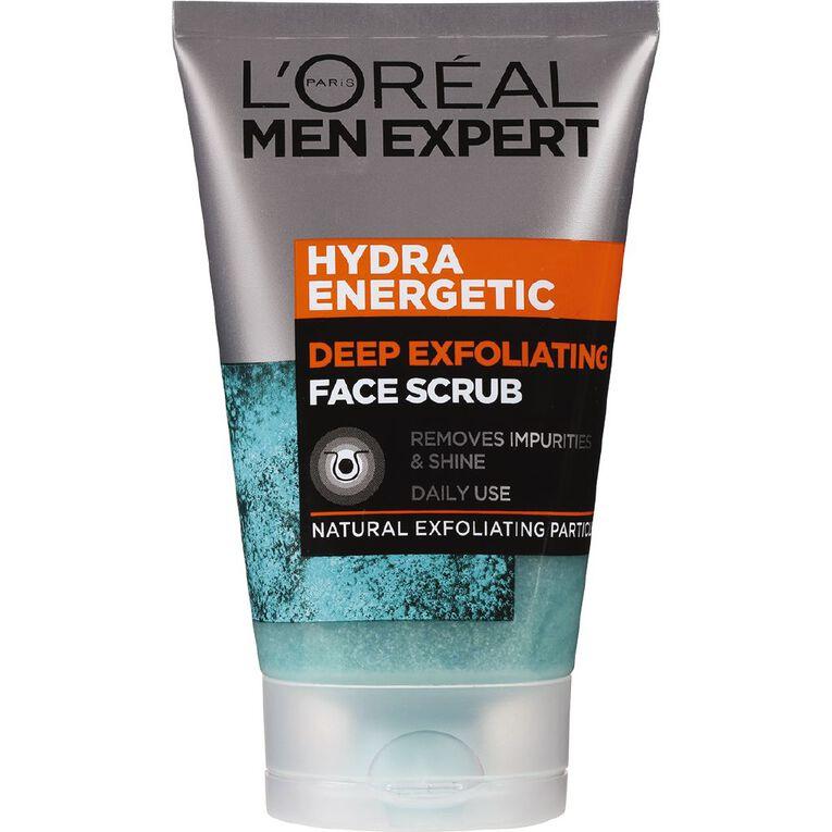 L'Oreal Paris Men Expert Hydra Energetic Face Scrub 100ml, , hi-res