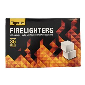 Tiger Tims Firelighters 36 Pack
