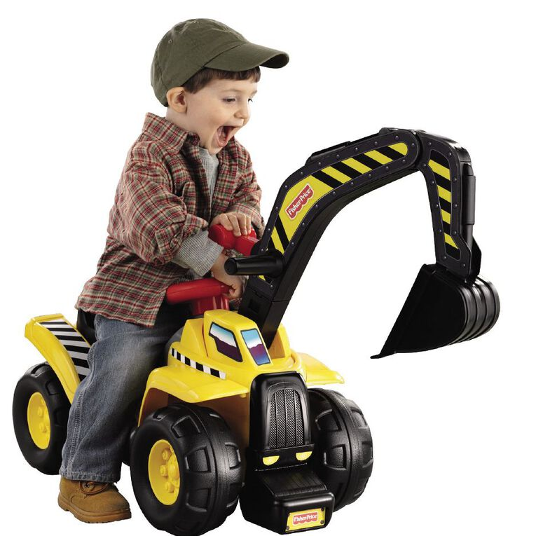 Fisher-Price Big Action Dig 'n Ride with Electronic Sounds, , hi-res