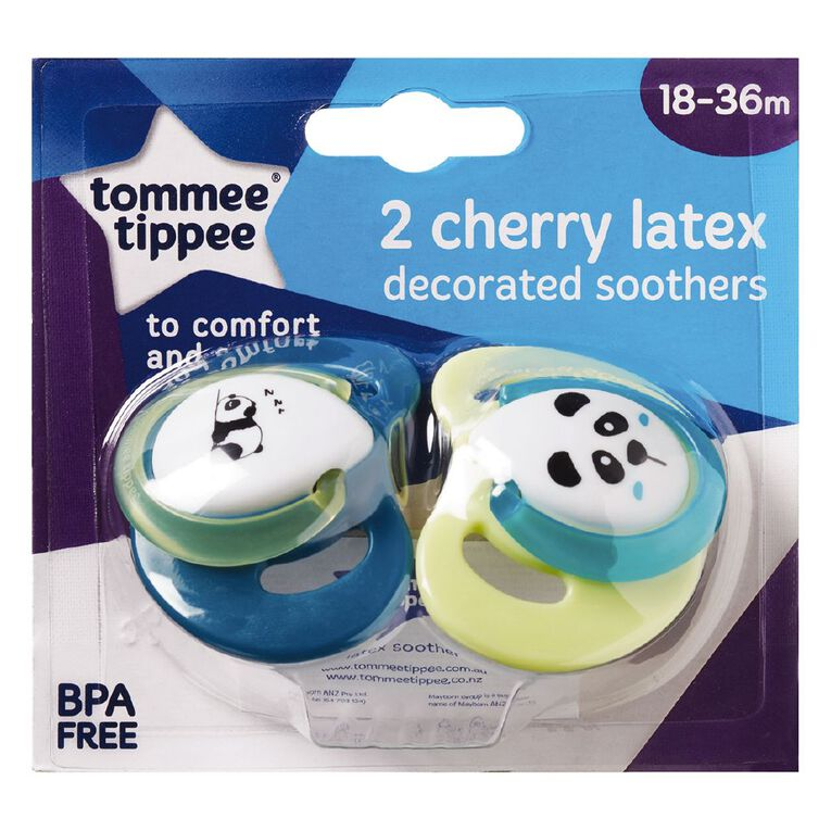 Tommee Tippee Latex Soother 18-36 Months 2 Pack, , hi-res