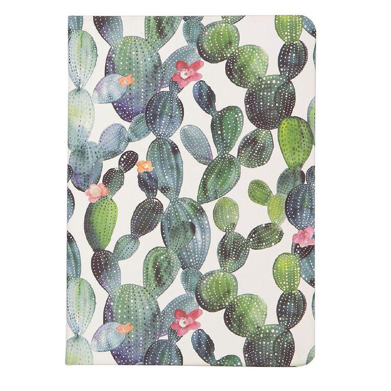 Uniti Fun & Funky Q4 PU Hardcover Notebook Cactus White A5, , hi-res