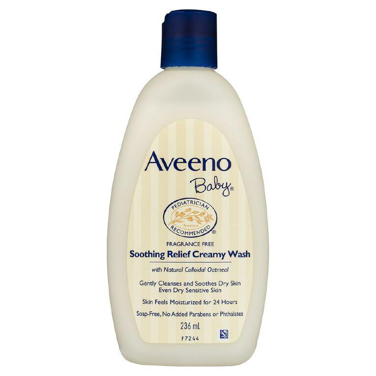 Aveeno Baby Soothing Relief Creamy Wash 236ml, , hi-res