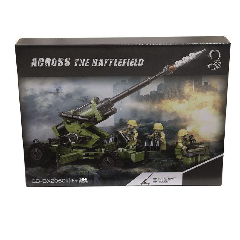 Across the Battlefield Artillery 314 Pieces Building Bricks, , hi-res