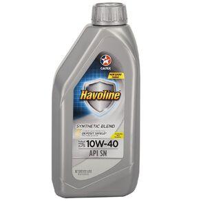 Caltex Havoline Synthetic Blend (SN) 10W-40 1L