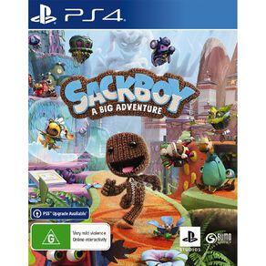 PS4 Sackboy A Big Adventure