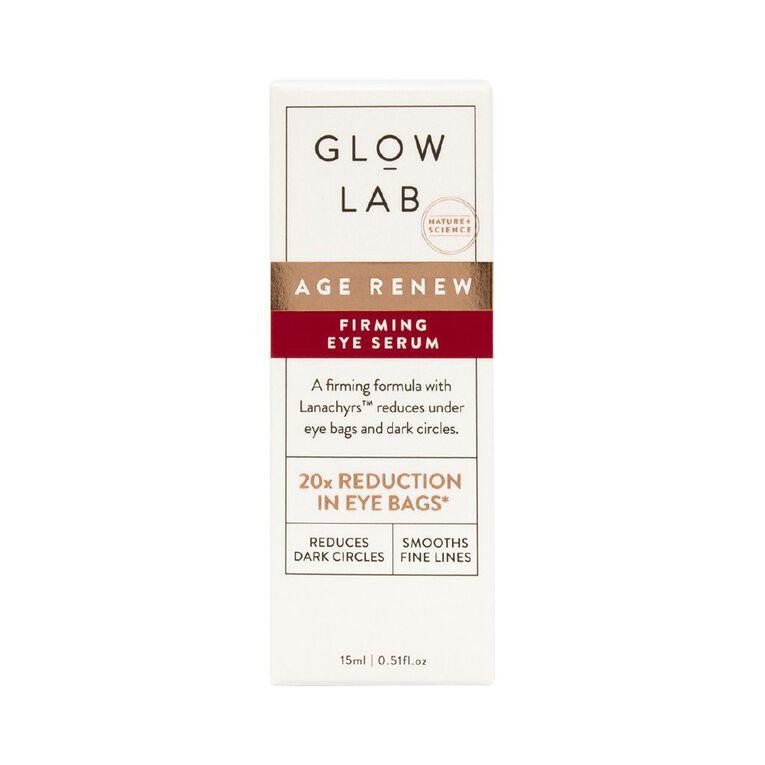 Glow Lab Age Renew Firming Eye Serum 20ml, , hi-res