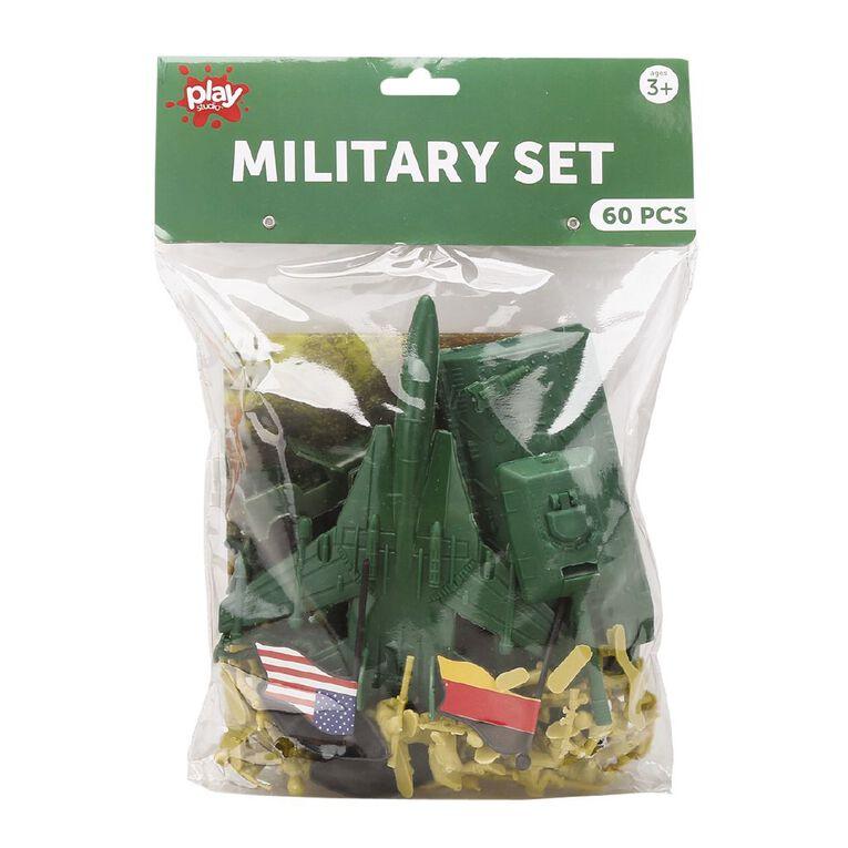 Play Studio Military Set 60 Pieces, , hi-res