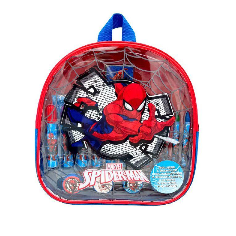 Spider-Man Art Activity Backpack, , hi-res