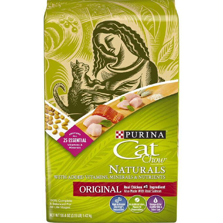 Purina Cat Chow Naturals 1.42kg, , hi-res