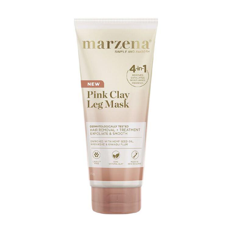 Marzena Pink Clay Leg Mask 170g, , hi-res