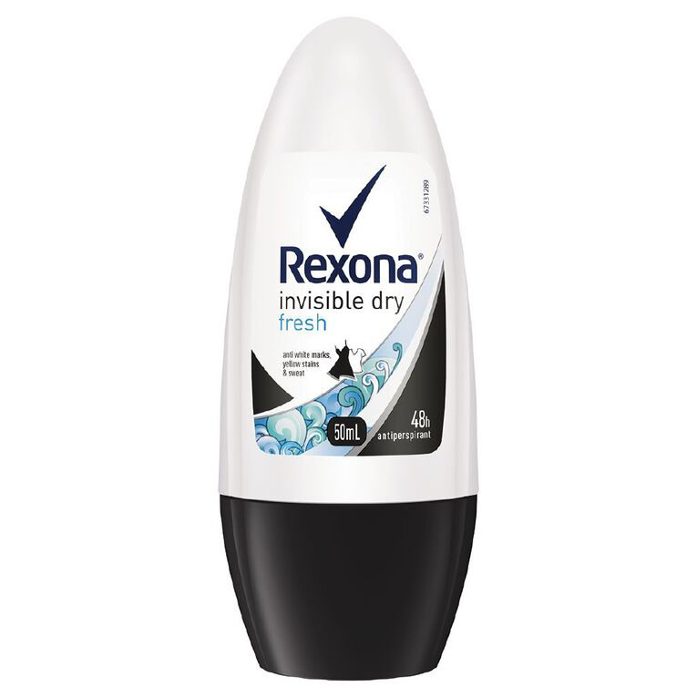 Rexona Women's Roll On Invisible Fresh 50ml, , hi-res