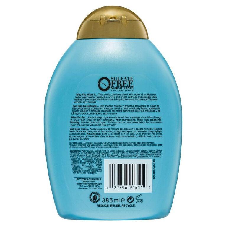 OGX Argan Oil Morocco Shampoo 385mL, , hi-res