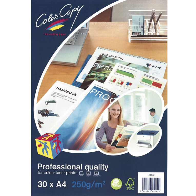 Color Copy Digital Laser Paper 250gsm 30 Pack, , hi-res