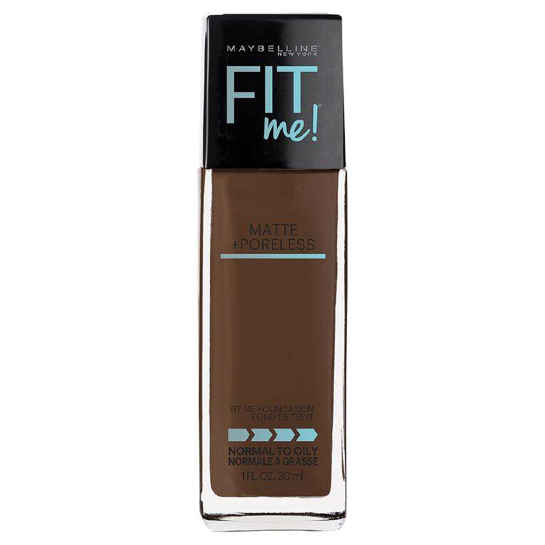 Maybelline Fit Me Matte & Poreless Liquid Foundation - Deep Golden 368, , hi-res
