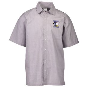 Schooltex James Cook Short Sleeve Shirt with Embroidery