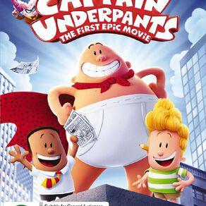 Captain Underpants DVD 1Disc