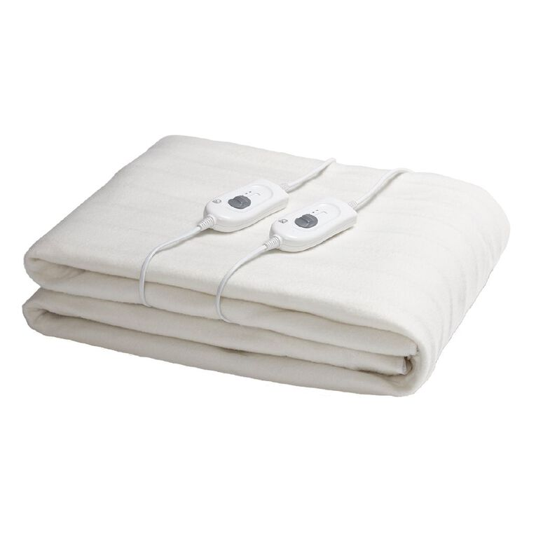 Living & Co Electric Blanket Fitted Queen 152 x 203 x 50cm, , hi-res
