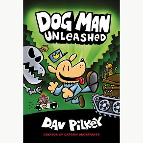 Dog Man #2 Dog Man Unleashed by Dav Pilkey