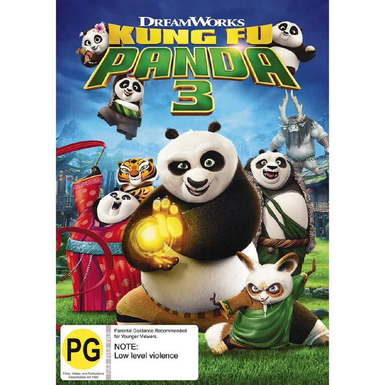 Kung Fu Panda 3 DVD 1Disc, , hi-res
