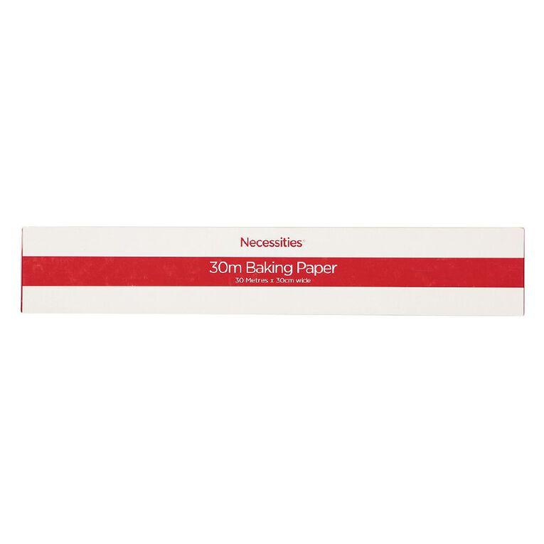 Necessities Brand Baking Paper 30 mt x 300mm, , hi-res