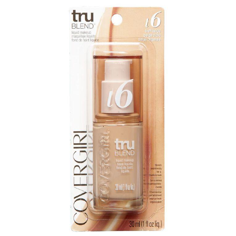 Covergirl TRUblend Liquid Foundation Buff Beige, , hi-res