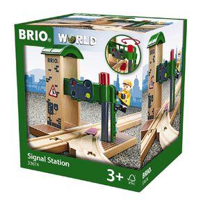 Brio Destination Signal Station 2 Pieces