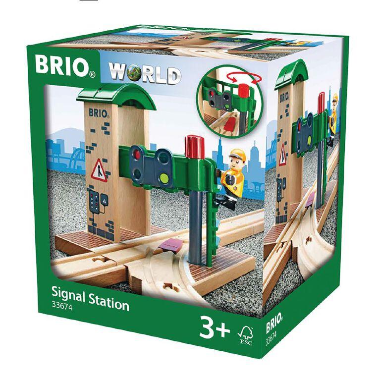Brio Destination Signal Station 2 Pieces, , hi-res